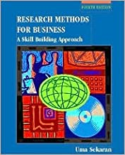 Research Methods for Business 4th (fourth) edition Text Only