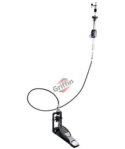 Remote Hi Hat Stand with Foot Pedal by GRIFFIN