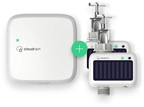 CloudRain Premium-Set: Smarte Garten-Bewässerung per Funk & Solar