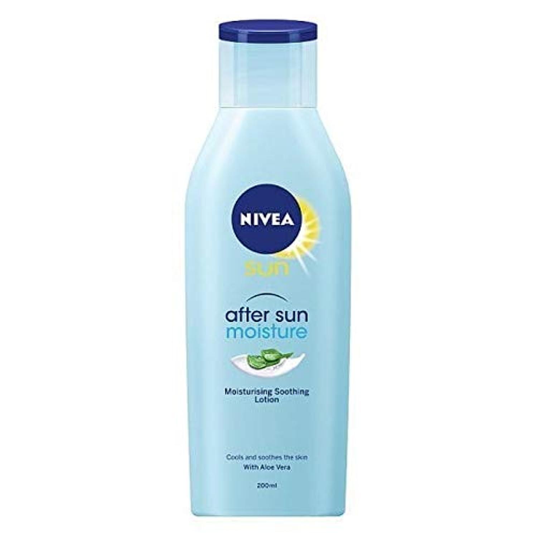 [Nivea ] ローションをなだめる日の保湿後ニベアの日、200ミリリットル - NIVEA SUN After Sun Moisturising Soothing Lotion, 200ml [並行輸入品]