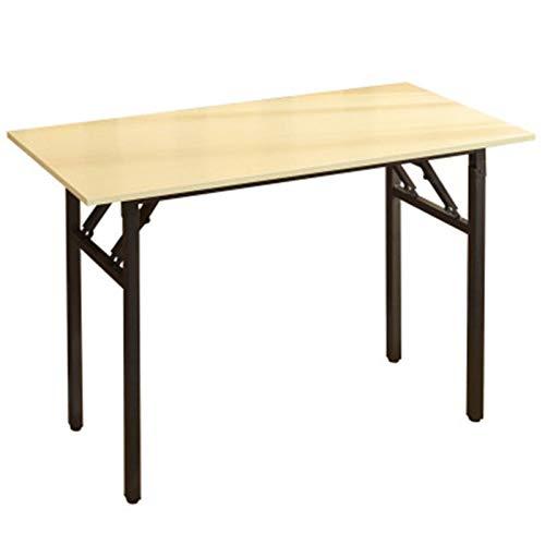 Tabla de entrenamiento plegable de la mesa de trabajo de la mesa plegable de la computadora de la computadora de la computadora plegable mesa del ordenador portátil, escritorio de oficina en casa