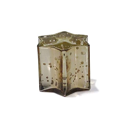 Zodax Small Star Votive Candle in Gold