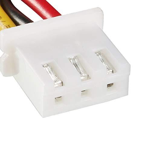 """uxcell 1/4"""" Hall Effect Water Flow Sensor Switch Flowmeter Fluid Counter DC5V 0.3-3L/min SEN-HZ06W"""