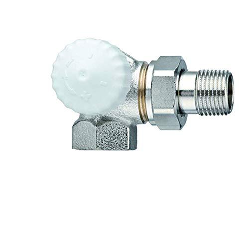 Heimeier Thermostatventil V-Exact Winkeleck li DN15 1/2