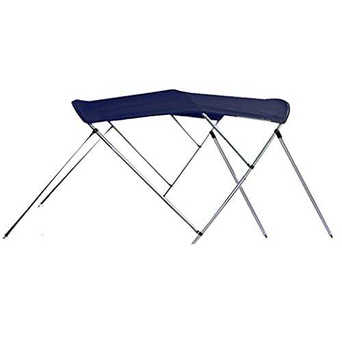 SBU Navy Blue 3-Bow Bimini Top Compatible with Stingray 200LX I/O for Model Years 2004-2007