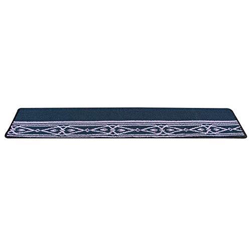 QIANMEI Tappeto per Scale Scale Tappeto Rettangolare (150x30 cm) Tappeti Grandi | Lavabili | Tappeto for Scale autoportante | Antiscivolo | scalino/Pad-Modern Fashion 5 Colori