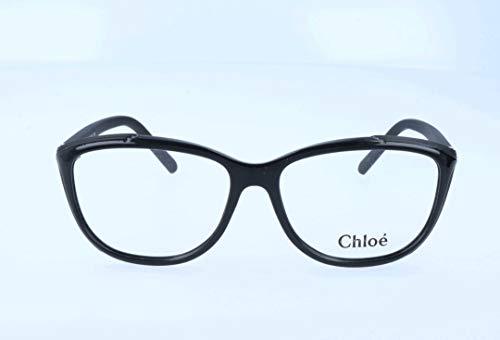 Chloé Brillengestelle CE2648 Monturas de gafas, Negro (Schwarz), 54.0 para Mujer