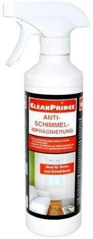 CleanPrince Anti-Schimmel-Imprägnierung 500 ml Geruch Schimmelpilz Pilzbefall Schimmelimprägnierung Schimmelschutz Schimmelvorbeugung Anti Schimmel Imprägnierung