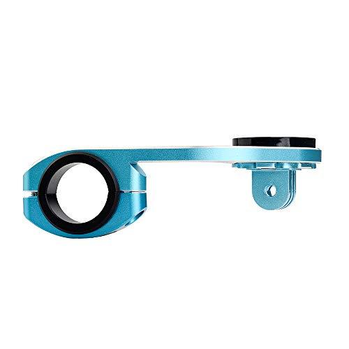 TrustFire Fahrrad Halterung GPS Fahrradcomputer Lenkerhalterung Radfahren Halter für Sport Kamera Go Pro Garmin Edge, Bryton – Blau - 6