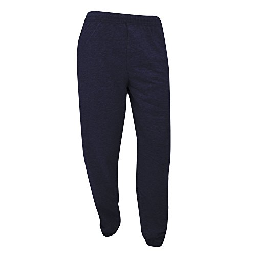 Fruit of the Loom Herren Open Hem Jog Pants Sport Jogger, Blau (Deep Navy Az), W46 (Herstellergröße: L)