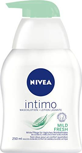 Nivea Intimo Mild Fresh Waschlotion, für den Intimbereich (1 x 250 ml)