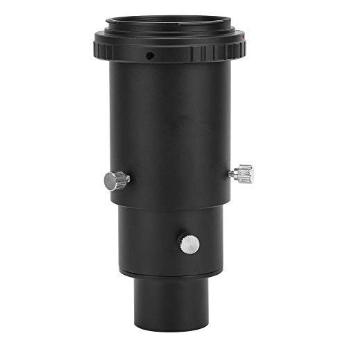 S erounder Telescope Extension Tube, 1.25' M42x0.75mm Aluminum Alloy Telescope Extension Tube Adapter Ring for Nikon/for Canon/for Sony/for Minolta/for Pentax/for Olympus SLR Camera(for EOS)