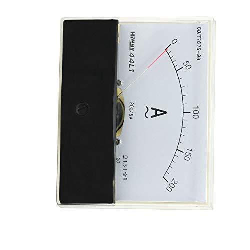 Aexit Kunststoffgehäuse AC 0-200A Analog Panel Meter Amperemeter Amperemeter Messgerät 44L1 (57af38259ea573e990083ca6db63967a)