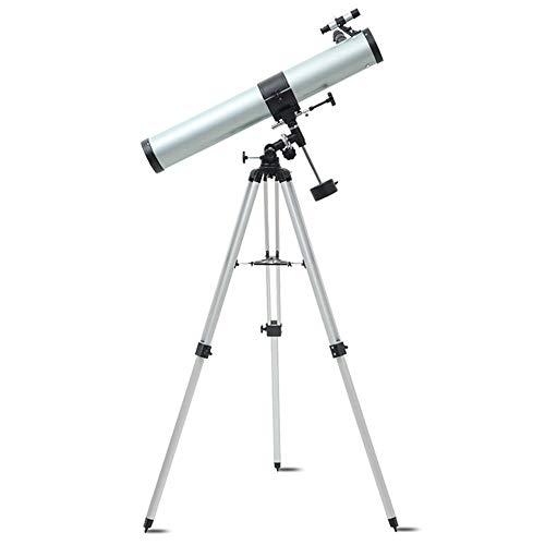 CZZ11 76Mm Freie Öffnung 900Mm Brennweite EQ Astronomisches Teleskop Geeignet Für Kinder Und Anfänger Astronomische Refraktor Mit Star Und Höhenverstellbar Stativ