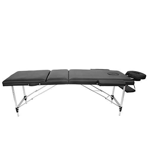 Mesa de masaje, portátil, plegable, sofá cama, salón de belleza, cama de masaje, impermeable, suave, cama de belleza ajustable, cama de terapia, cama de tatuaje