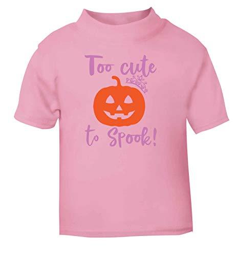 Flox Creative T-Shirt pour bébé Too Cute to Spook - Rose - 6-12 Mois