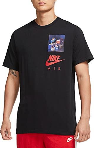Nike Sportswear - Camiseta para hombre, CW0413-010, color negro negro S