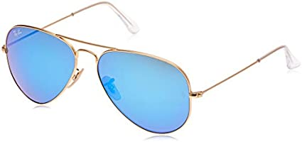 Ray-Ban RB3025 Aviator Classic Flash Mirrored Sunglasses