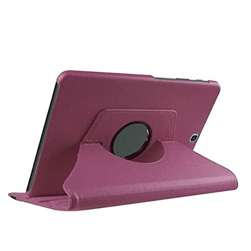 LIUCHEN Funda de tableta360 Funda giratoria para Tableta con Soporte para Samsung Galaxy Tab S2 9.7 Pulgadas Cubierta T810 T813 T815 T819 SM-T810 T813 T815 Cuero, Morado