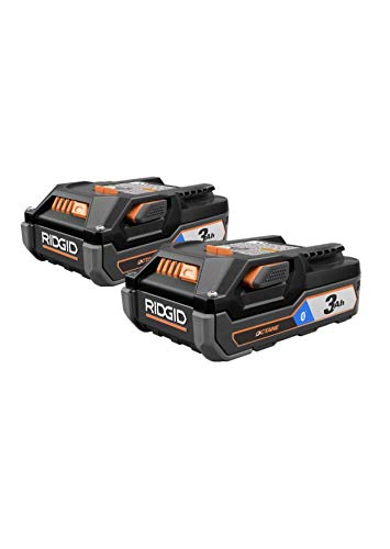 Ridgid 18V OCTANE Bluetooth 3.0 Ah Batteries (2-Pack) and Charger Kit w/Tool Bag