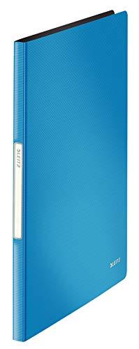 Leitz 45641030 Solid Sichtbuch PP A4, 20 Hüllen, hellblau