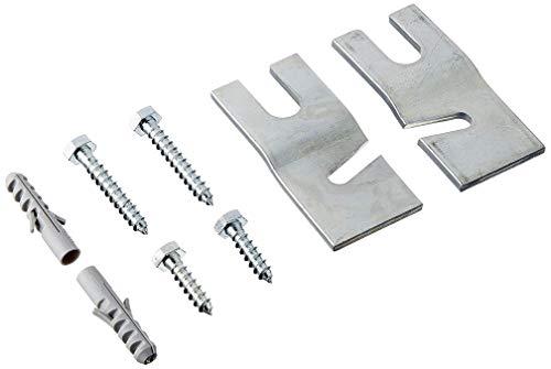 Bosch WMZ2200 accesorio para montaje en panel plano, Accesorio para soportes, Plata, 380 g, Girable e inclinable, Acero