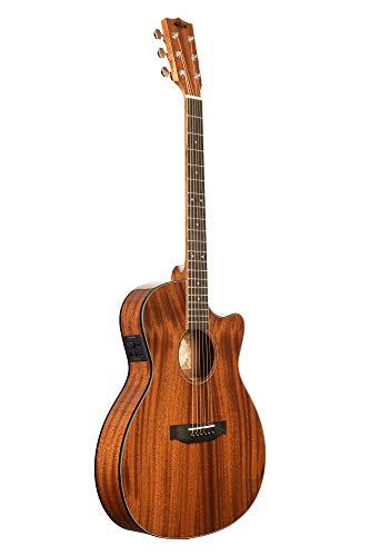Kala Guitarra de cedro sólido con bolsa (KA-GTR-PLR_W/BAG)
