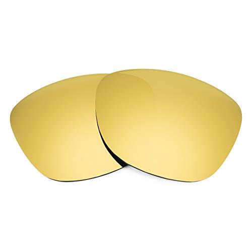 Revant Ersatzgläser Kompatibel mit Spy Optic Frazier, Polarisiert, Gold MirrorShield