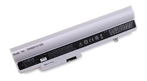 Batterie LI-ION 4400mAh, 10.8V, Couleur : Blanc, pour LG X120-H.C7L1A9, X120-L.C7L1A9, LG X130, remplace LB3211EE