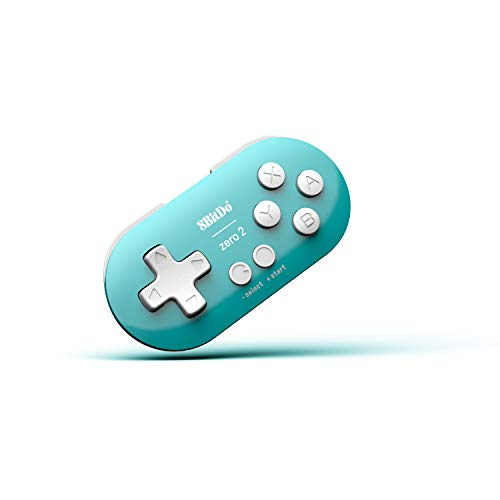 8Bitdo Zero 2 Bluetooth Gamepad(Turquoise Edition) - Nintendo Switch