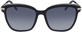2decdb6b9 Óculos CK Ck1237S 414 Azul Lente Azul Flash Degradê Tam 55