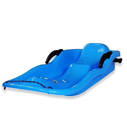 JXILY Plástico Nieve Trineo Ligero Tobogán Duradero Deportes Slider Slider Skis para Niños De Niños Invierno Tablero De Esquí Espesar