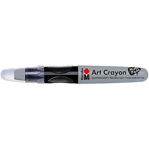 Marabu Watercolor Art Crayon for Mixed Media: Light Grey