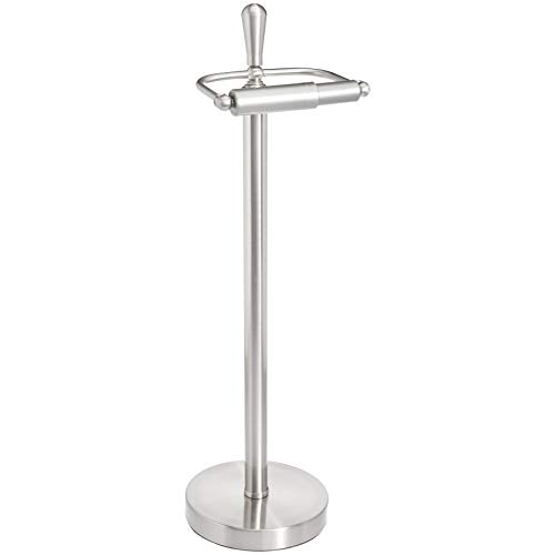 Amazon Basics Brushed Steel Bathroom Accessory Collection - Toilet Paper Holder