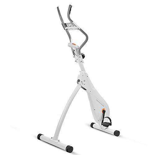 XQWZM X-Bicicleta,Magnetron Bicicleta De Ejercicio,Ultra-Tranquilo Plegable Bicicleta Interior,Vertical Fitness Bike Bicicleta Giratoria,para Entrenamiento En El Hogar