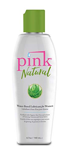 Pink Natural - Natural Water-Based Lubricant (4.7 fl. oz.)