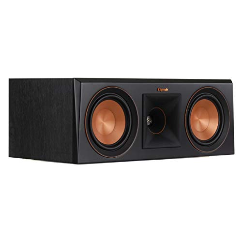 Klipsch RP-500C Center Channel Speaker (Ebony)