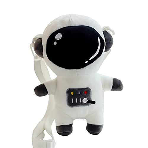 LTCTL JK Bag Cute Cross-Body Bag Bolso de hombro japonés New Lolita Astronaut Cartoon Bag (Color: Negro, Tamaño: 28cm)