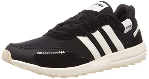 adidas Damen Retrorun Walking-Schuh, Schwarz Core Black Cloud White Alumina, 38 2/3 EU