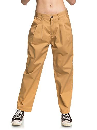 Quiksilver Frauen Stoffhose Slack Pant (Iced Coffee), Größe:31