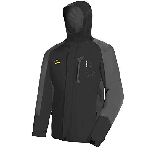 Chef Works mens Avignon Bistro Coat chefs jackets, Black, Medium US