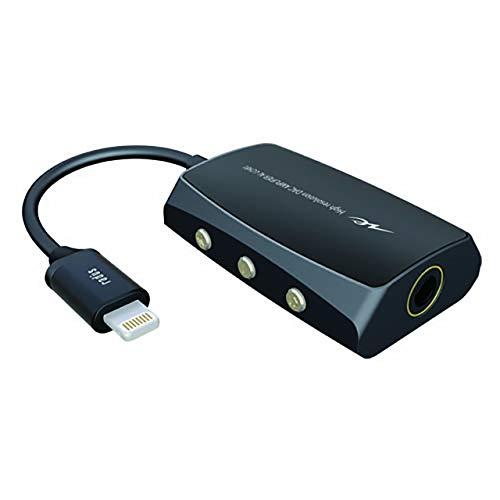ラディウスradiusAL-LCH81ポータブルヘッドホンアンプ:iPhone用24bit/192kHzハイレゾ音源再生対応DACアンプLightningライトニングアイフォンAL-LCH81K