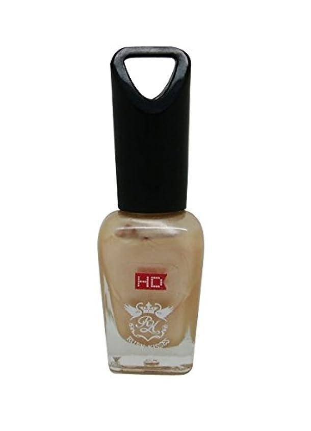 細菌レンジ尊敬RUBY KISSES mini HD ネイル ポリッシュ MNP315J Pearl Peach 8ml