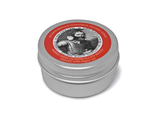 Beard Wax. Portobello Control skäggvax med arganolja, naturligt & handgjort i Storbritannien. 30 ml