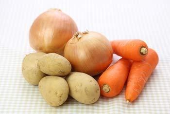 北海道産 たまねぎ6kg じゃがいも( メークイン )6kg 人参8kg【 秀品 全20kg 野菜セット】