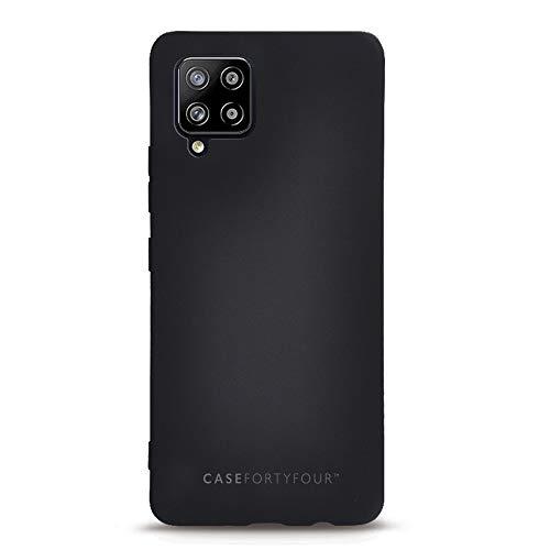 Case FortyFour No.1 para Samsung A42 5G - Funda delgada y ligera para teléfono - Negro