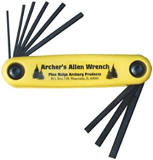 Pine Ridge Archery Archer`s Allen Wrench Set, X-Large