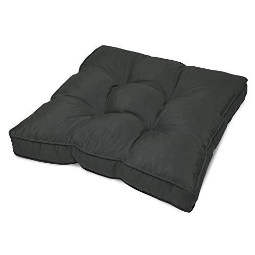 Beautissu Cojín para Muebles de jardín o Mimbre Flair Outdoor - Acolchado Lounge de sillas de Exte