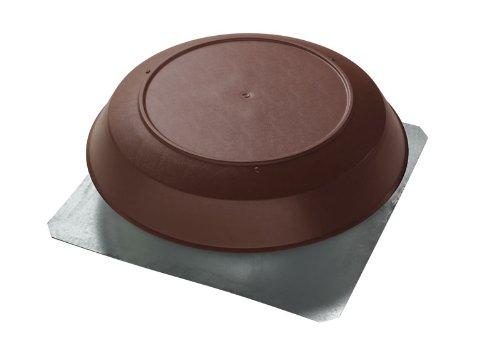 Broan 355BR Roof Mount 120-Volt Powered Attic Ventilator, 1000 CFM, Brown Dome
