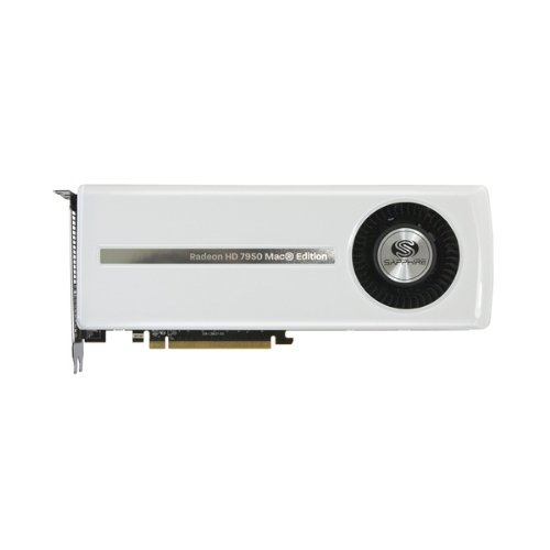 Sapphire ATI HD7950 MAC Edition Grafikkarte (PCI-e, 3GB GDDR5 Speicher, DVI, HDMI, 2X Mini DisplayPort, 1 GPU)